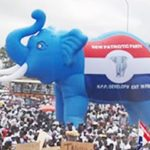 Mammoth crowd 'drowns' Akufo-Addo as he arrives to file nominations