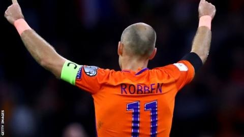Photo of Arjen Robben retires as Netherlands fail to qualify for World cup