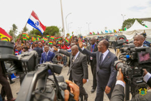 Ouattara visits Ghana today as three major roads shut down in Accra