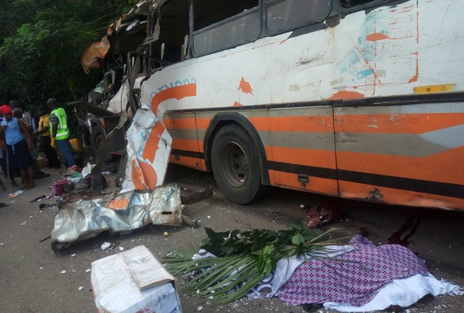 Photo of MMT bus in Fatal accident