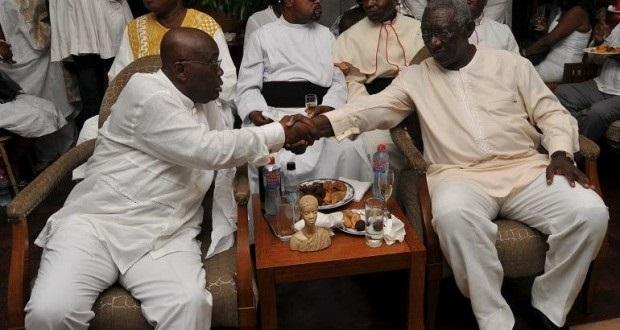 Photo of Akufo-Addo congratulates Kufour on Freedom Medal