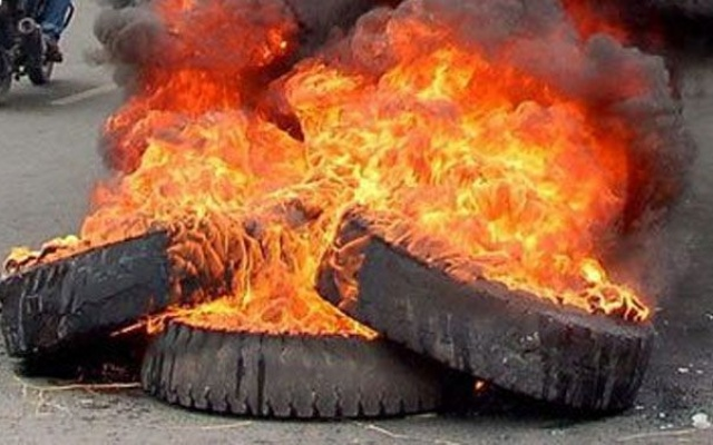 Photo of NADMO cautions new year celebrants against burning used tyres