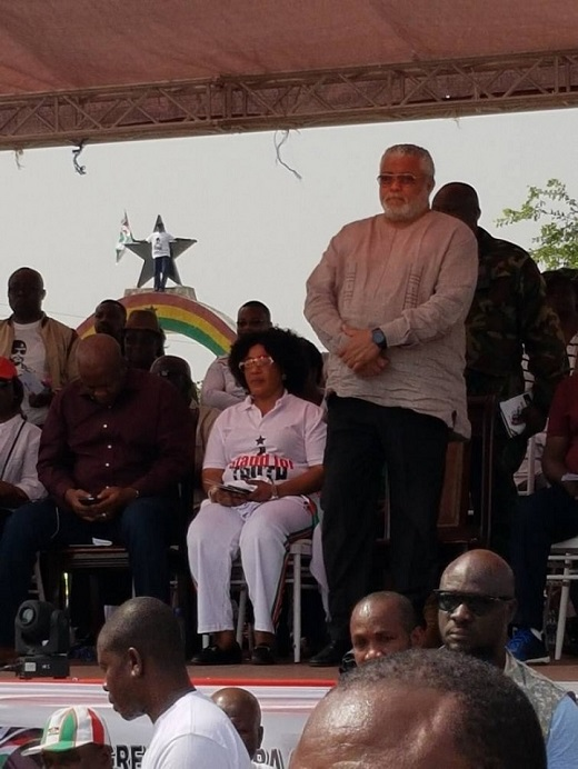Photo of Rawlings' full speech at 36th anniversary of 31st December Movement