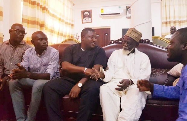 Photo of Nana-B calls on National Chief Imam; re-affirms government commitment towards Zongo Development Authority