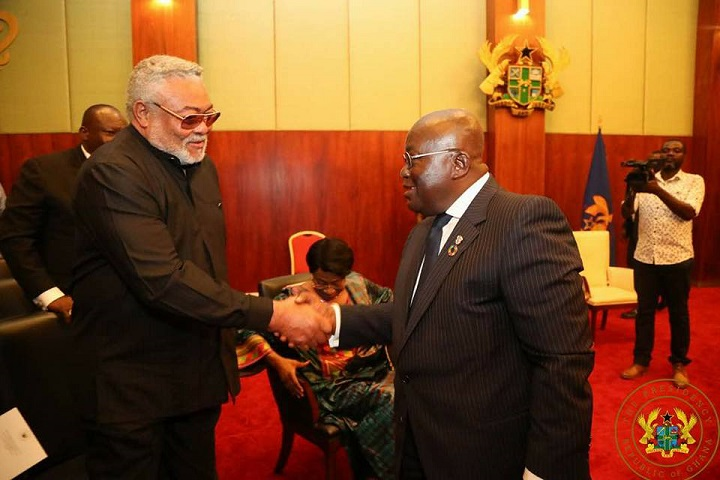 Photo of Rawlings commends Akufo-Addo; congratulates Amidu