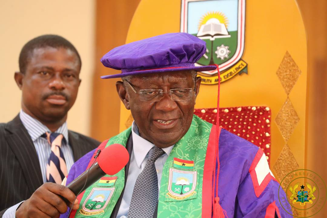 "Photo of Kufuor's appointment as UMAT Chancellor well-deserved"" – President Akufo-Addo"