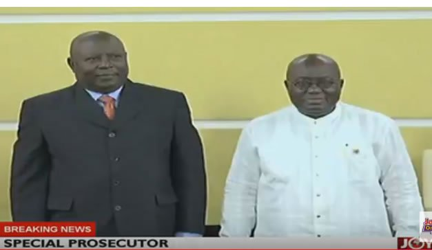 Photo of President Akuffu Addo names Martin Amidu as Special Prosecutor