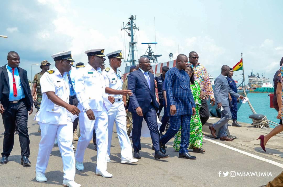 Photo of Bawumia visits Sekondi Naval Base