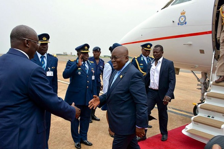 Photo of President Akufo-Addo leaves for Togo, United States and Germany