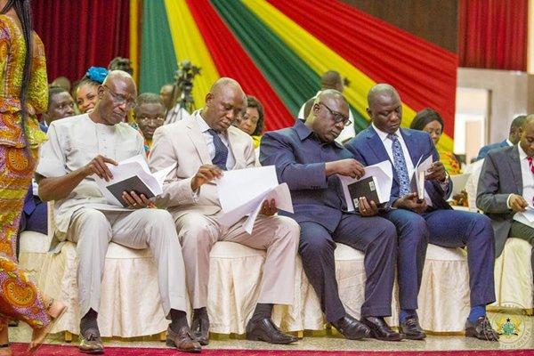 Cabinet reshuffle; President Akufu Addo prunes government, Adda, Hawa Koomson, others out ...