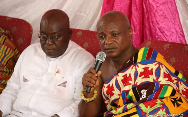 Photo of Togbe Afede lauds Akufo-Addo for naming Amidu as SP