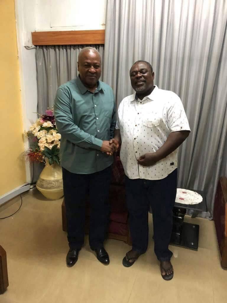 Photo of PHOTOS: When Mahama visited Koku Anyidoho at BNI Headquarters