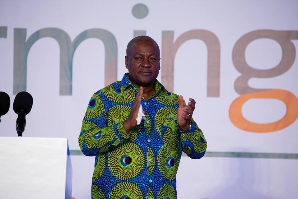 Photo of Mahama announces $10billion 'big push' infrastructural plan