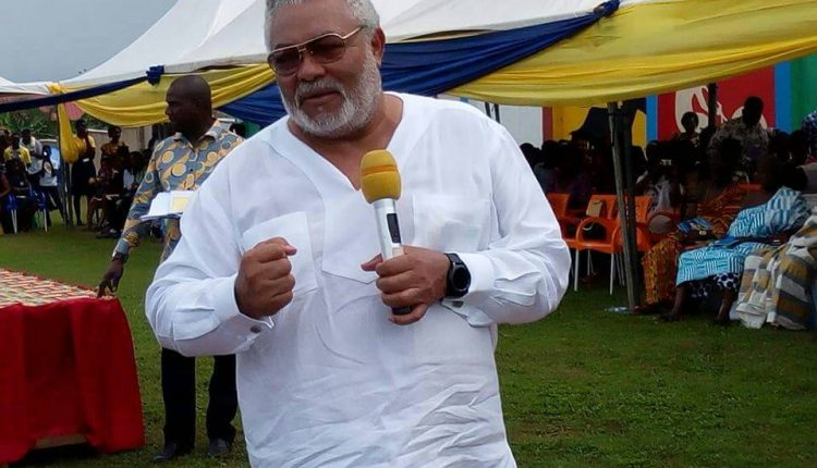 Photo of Buhari, Lumumba, others mourn with Ghana over Rawlings' death