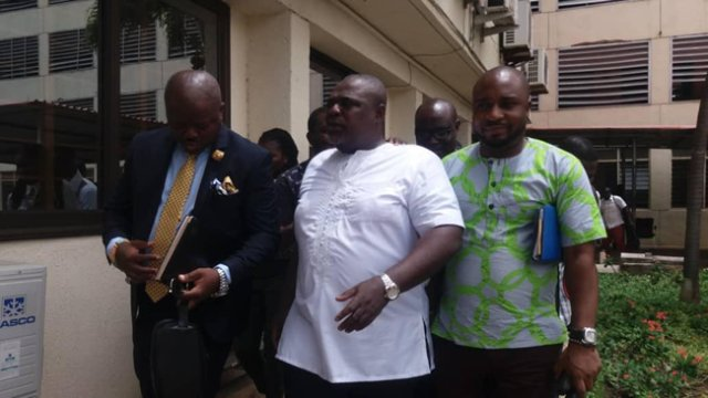 Photo of Koku reports to police CID (Photos)