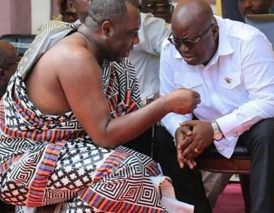 Photo of Nana Extols Napo To Otumfuo