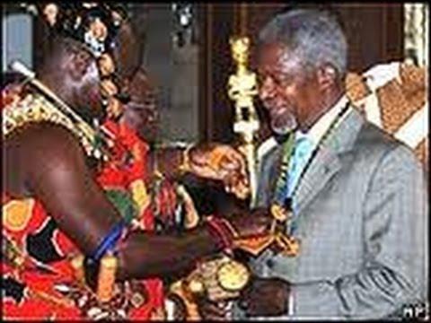 Image result for Asantehene vs kofi annan