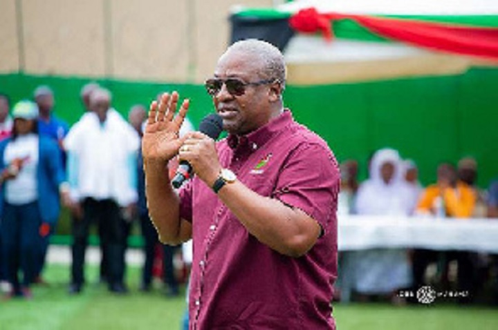 Photo of Akufo-Addo has taken Ghana's democracy 28 years back – Mahama