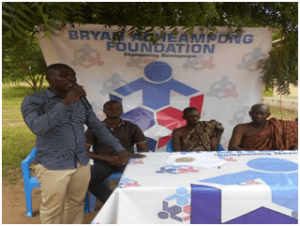 Photo of BAF REGISTERS OVER THOUSAND PEOPLE ON TO NHIS IN THE KWAHU EAST DISTRICT