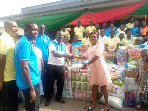 Photo of Bantama A/G donates to Prisons, Kumasi Children's Home