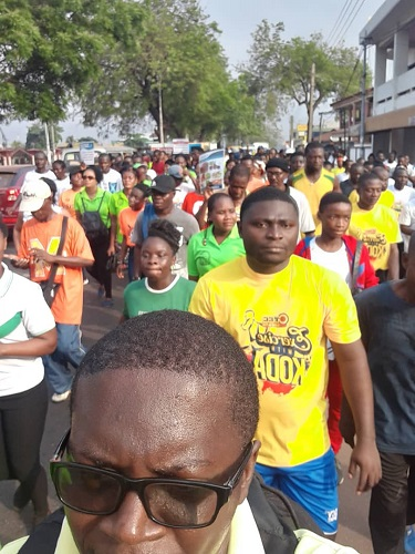 Photo of Photos + Videos: Thousands show up for OTEC FM health walk