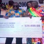 58-year-old Charles Gyamfi is 2019 National Best Farmer