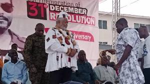 Photo of Full text: J.J. Rawlings' speech at 38th Anniversary of 31 December Revolution