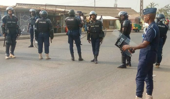 Photo of COVID 19: Ashanti Region police vow to deal ruthlessly with lockdown offenders