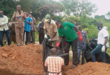 Photo of Accident victims buried in mass grave in Kintampo