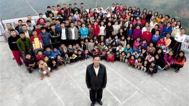 Photo of Indian man with 39 wives, 94 children, 33 grandchildren still looking for new wives