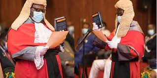 Photo of Photos: President Akufo-Addo swears in Supreme Court Justices Mensa-Bonsu and Yoni Kulendi