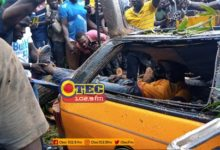 Photo of Kumasi: Falling tree kills taxi driver (Video+photos)