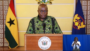Photo of 13 points from President Akufo-Addo's 13th coronavirus address to the nation