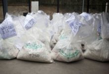 Photo of 100 grams of suspected cocaine allegedly goes missing in GRA custody