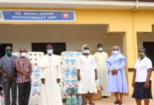 Photo of Covid 19: KOMDPA Donates to Pope John Paul II Health Centre