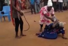 Photo of 90-year-old woman lynched for alleged witchcraft