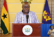 Photo of Ghana's active COVID-19 cases now 3,307 with 29,494 persons discharged- Nana Addo