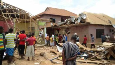 Photo of Upper Denkyira West: Two dead, 22 others injured after gas explosion (Video+photos)