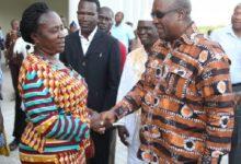 Photo of I accept your nomination; I'll help you win – Jane Naana to Mahama