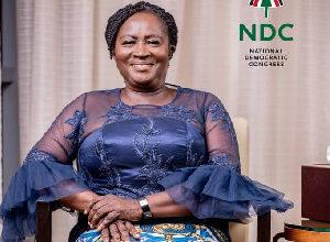 Photo of Jane Naana Opoku-Agyemang is a role model, God-fearing – Mahama