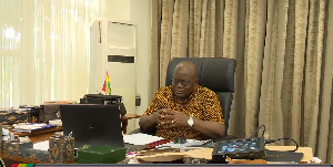 Photo of Compare my records with Mahama's – Akufo-Addo to NPP communicators (Audio)