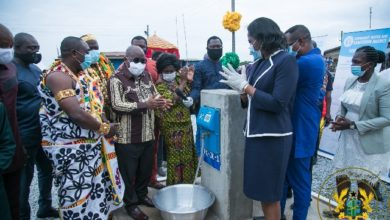 Photo of C/R: Akufo-Addo opens 146 rural water systems