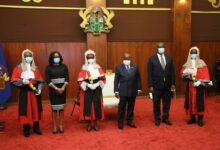 Photo of Akufo-Addo swears in 6 Court of Appeal justices