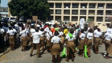 Photo of We'll not write our exit exams until allowances are paid – School of Hygiene students
