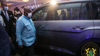 Photo of Photos: President Akufo-Addo Unveils First Assembled VW Vehicles In Ghana