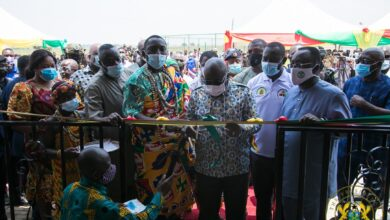 Photo of Akufo-Addo commissions 75 greenhouses and entrepreneurship centre at Dawhenya