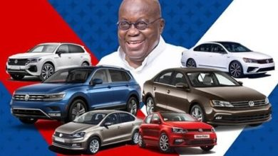 Photo of Akufo-Addo unveils first home-assembled VW car