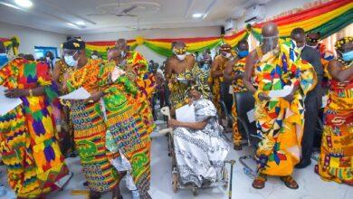 Photo of Bawumia inaugurates Oti, Northern Regional House of Chiefs