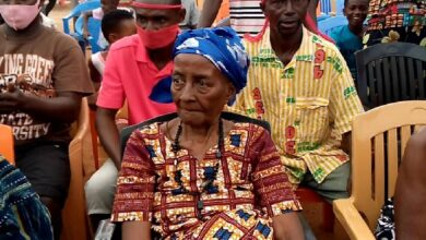 Photo of Atwima Kwanwoma: Machomen attack 135-year-old queen mother, steal sacrificial sheep, drinks