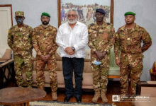 Photo of Rawlings receives Malian coup makers